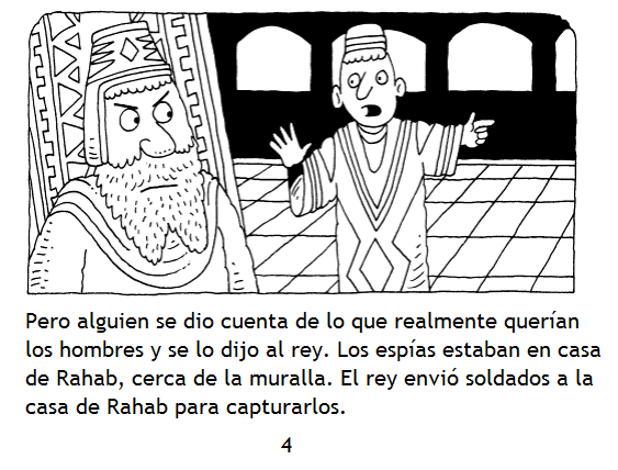 Biblia en puntadas: RAHAB