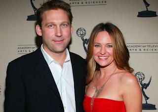 Sandy Corzine with his ex-wife Sharon Case
