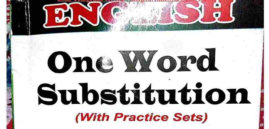 5000 One Word Substitution PDF