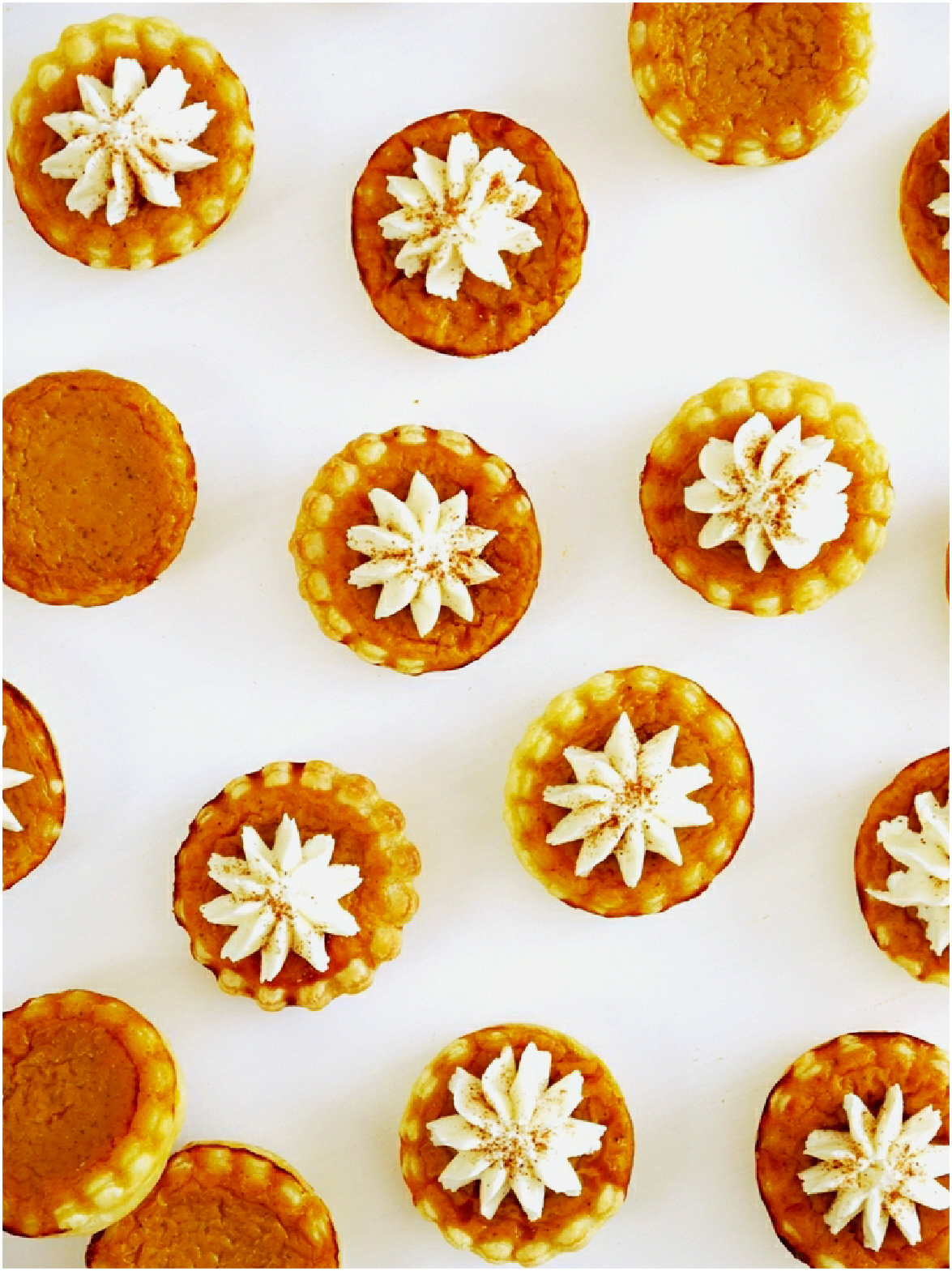 Bite-size Pumpkin Pie Recipe