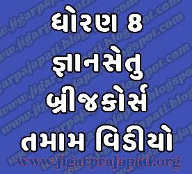 Std-8: Bridge Course, Class Readiness (Gyansetu) Program Live Videos on DD Girnar Youtube By Gujarat E-Class SSA, Samagra Shiksha