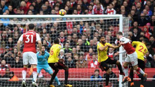 Arsenal vs Watford 3-0 Highlights