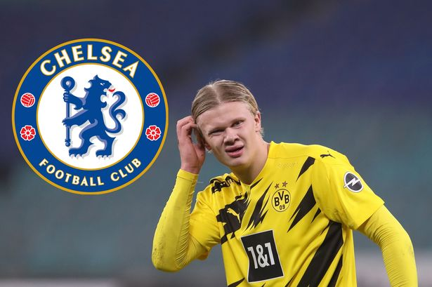 Borussia Dortmund striker Erling Haaland rules out Chelsea transfer