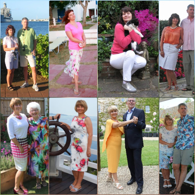 Summer holiday outfits and sandals from over the years from the Is This Mutton archives