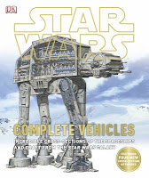Star Wars: Complete Vehicle book cover with an At-At