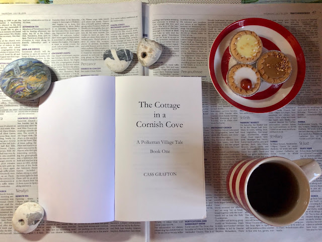 books set in Cornwall, Chez Maximka, Cornishware