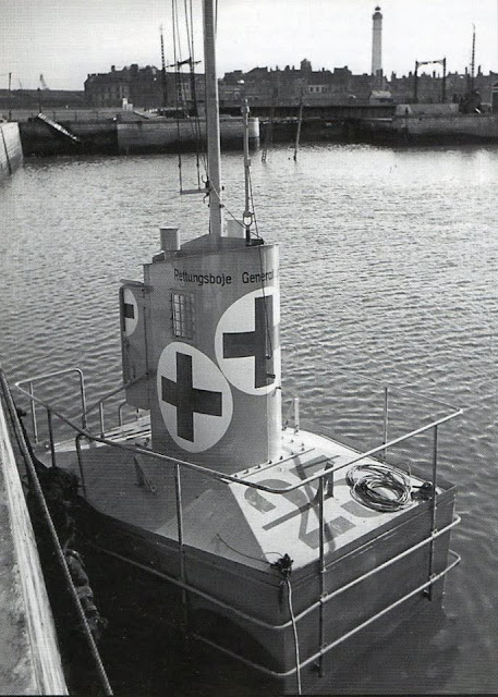 Captured Rettungsboje during World War II worldwartwo.filminspector.com