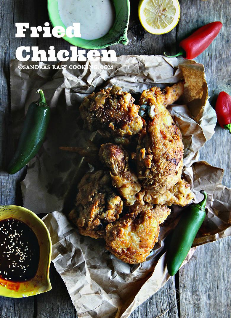 Double Fried Chicken #chicken #homeade #recipe