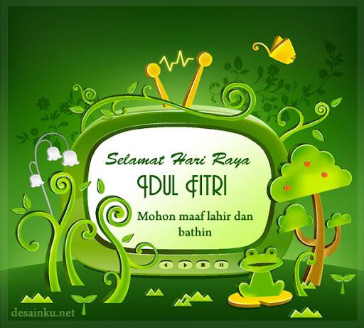 Kartu Ucapan Selamat Hari Raya Idul Fitri 1435 H