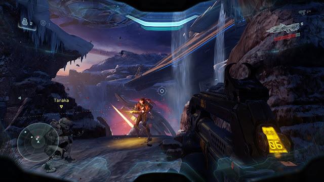 Halo 5: Guardians fireteam osiris forerunner soldier