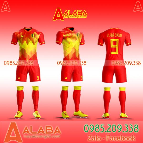Áo đá bóng Bỉ xịn
