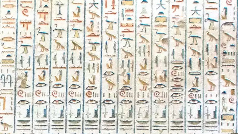 Ancient Egyptian Hieroglyphics Meaning