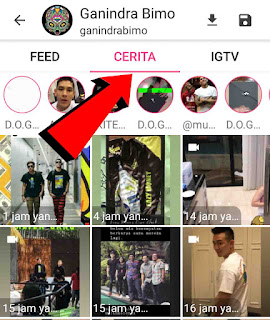 Cara menyimpan InstaStory orang dengan aplikasi Stori Saver