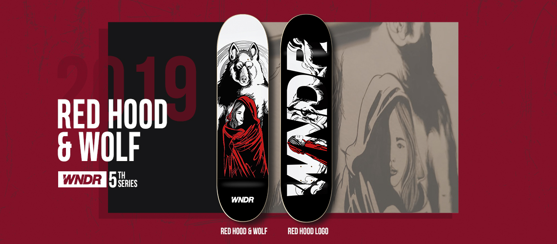 https://www.tokopedia.com/wndr/skateboard-deck-redhood-wolf-series