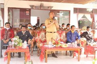 Pimpin Musrembang Kecamatan Parmonangan, Bupati Taput Ajak Para Kepala Desa Fokus pada Pembangunan