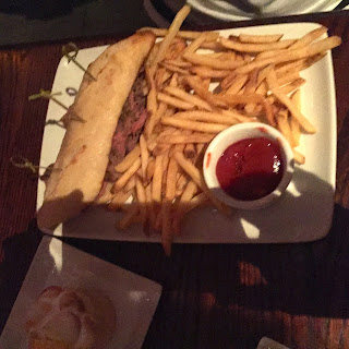 The Carved Roast Beef Sandwich at the Be Our Guest Restaurant