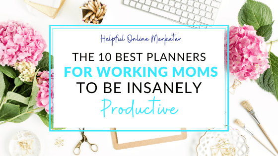 best planners for working moms