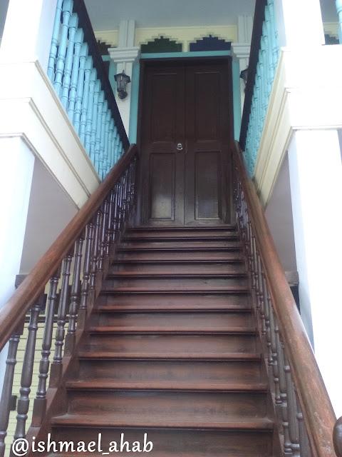 Stairs of Casa Tribunal in Noveleta, Cavite