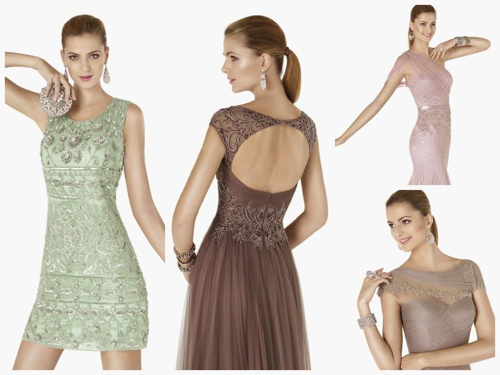 Coleccion vestidos de fiesta 2015