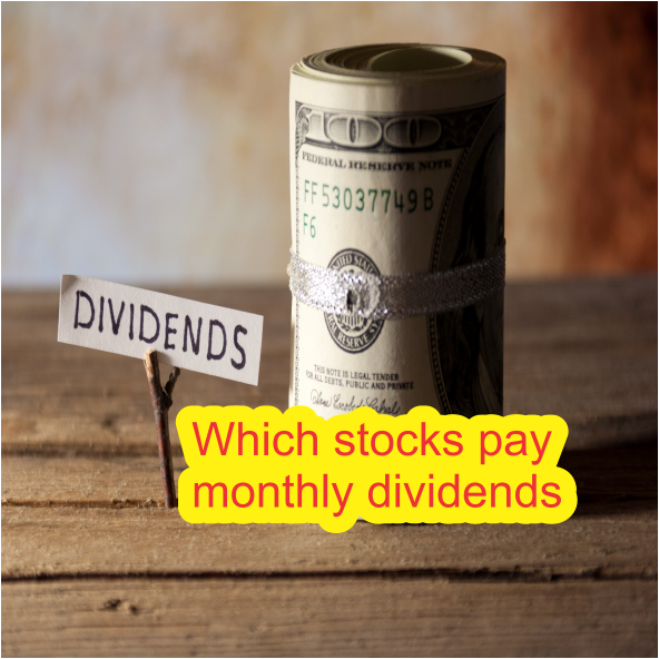 Which stocks pay monthly dividends
