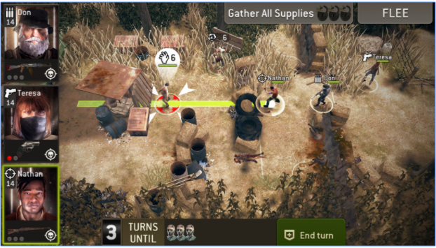 The Walking Dead No Man Land MOD APK