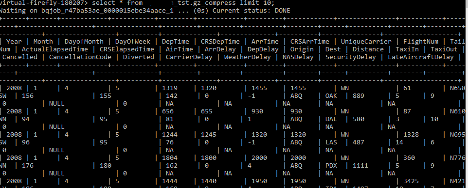 Beginners Guide for Biggest Engines: Load gzip files to