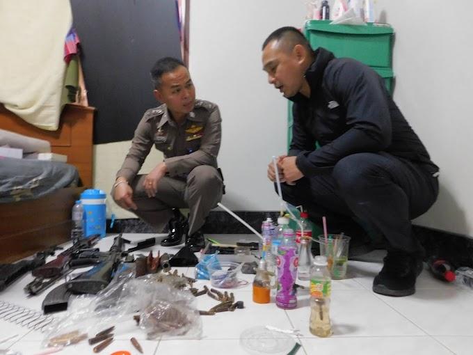 คลิป | สตูลจับกุมแก๊งค้ายาเสพติดพร้อมอาวุธสงคราม
