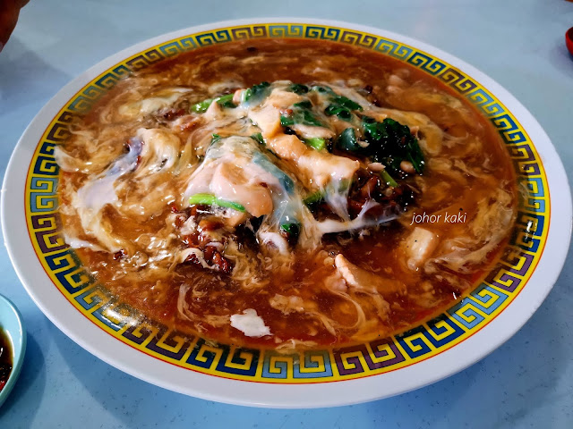 You Buy Andy Cook for You Seafood Zhi Char @ Ong Siew Lian Coffee Shop in Pontian 好来海鲜