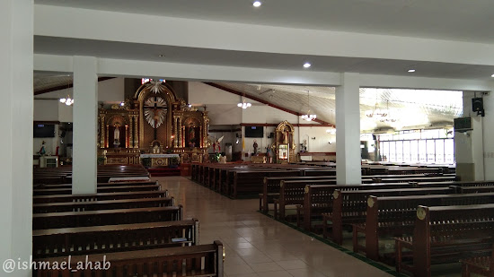 Interior of St. Michael the Archangel Chapel in Taguig City