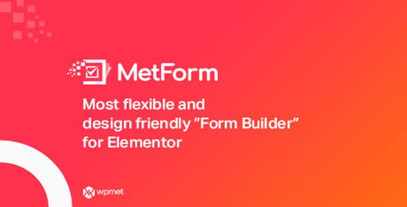 MetForm Pro v1.1.2 - Advanced Elementor Form Builder Download