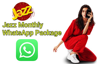 Jazz whatsapp packages monthly - jazz whatsapp packages monthly code