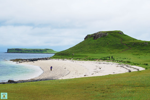 Coral Beach, isla de Skye (Escocia)