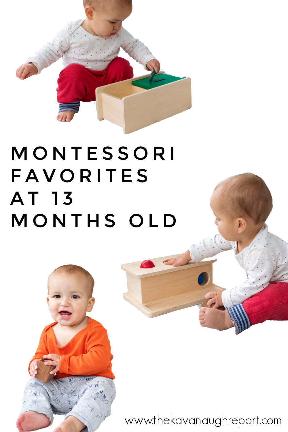 A look at Montessori friendly toys at 13 months that my toddler actually uses. These make our list of Montessori toddler activity favorites.