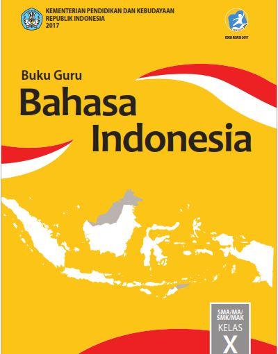 Buku Guru Bahasa Indonesia Kelas 10