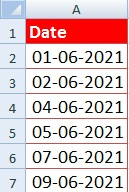 How to Find a Missing Number in Excel in Hindi