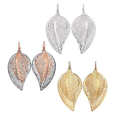 Double-Leaf Earrings $5.99 Shop Now >>>