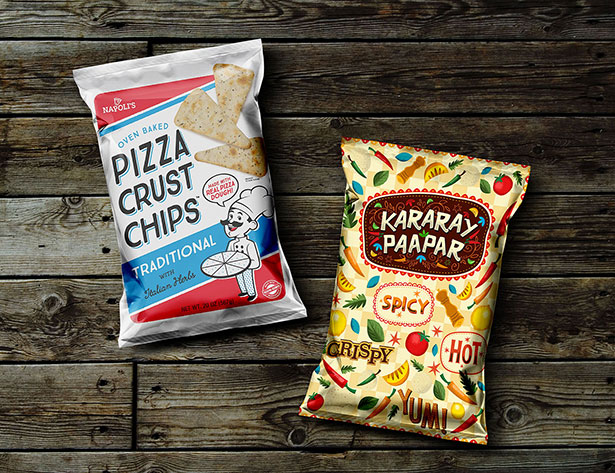Gratis Mockup Packaging/Kemasan PSD 2018 - Snack Pack Pouch Packaging Mockup PSD