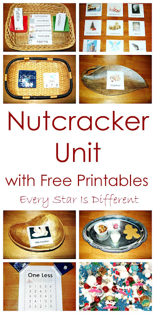 Nutcracker activities and free printables