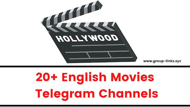 20+ English Movies Telegram Channels
