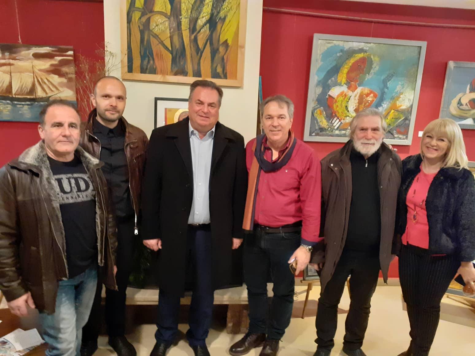 Άνοιξε η Ομαδική Έκθεση με έργα καλλιτεχνών του Συλλόγου Καλλιτεχνών Εικαστικών Τεχνών Χαλκιδικής