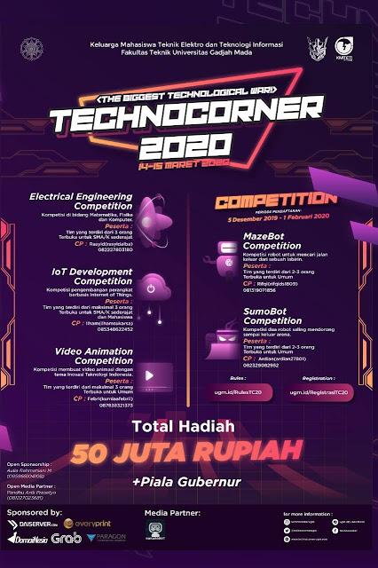 TECHNOCORNER 2020 - Universitas Gajah Mada