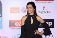 Red Carpet of Most Stylish Awards 2017 ~ Deepika Padukone in Black Gown (4).JPG