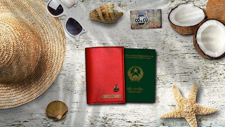 ví đựng passport đổ tươi