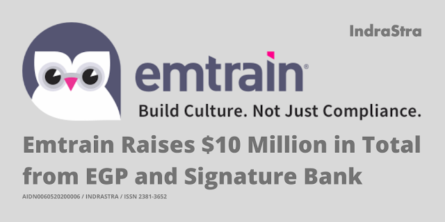 Emtrain Raises $10 Million in Total from EGP and Signature Bank