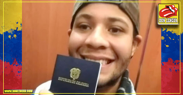 Cantante callejero venezolano en Colombia ya obtuvo su pasaporte para ir a cantar a México
