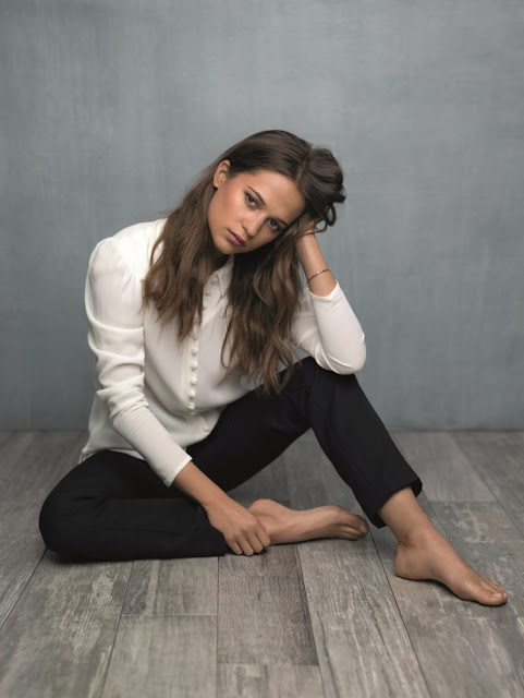 Alicia Vikander – Portraits for 'Jason Bourne'