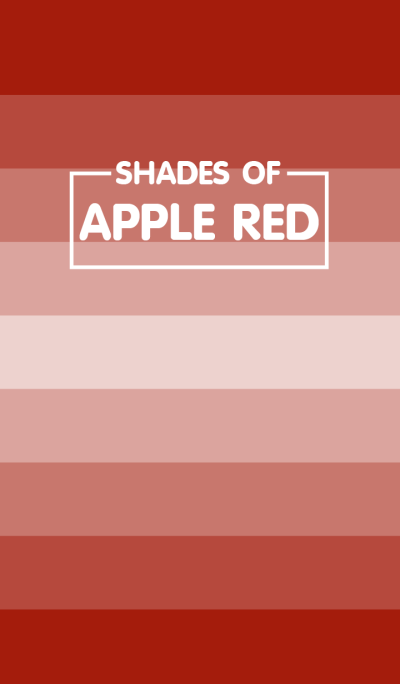 Shades Of Apple Red