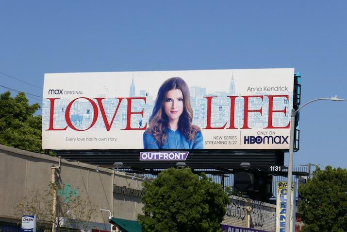 Love Life series launch billboard