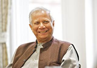 A biografia de Muhammad Yunus