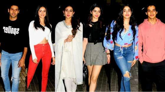 Bollywood Star Kids Giving Friendship Goals